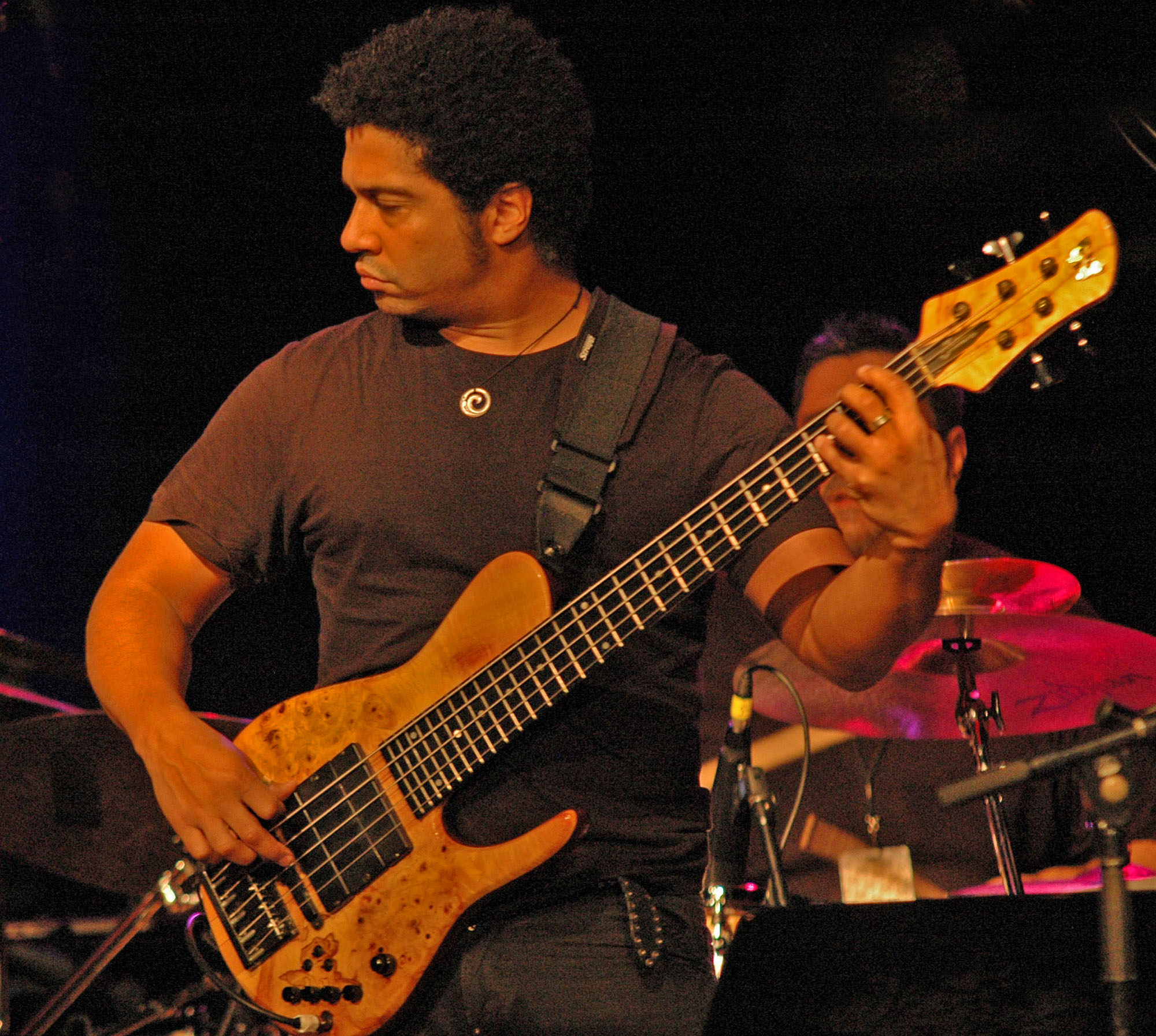 Matthew Garrison, , Performing with Human Element at the New Universe Music Festival 2010