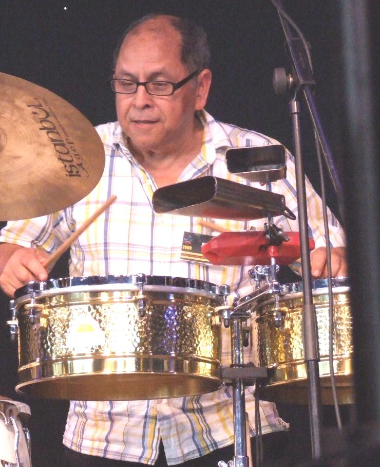 Roberto Pla with Paul Carmichael Flight; 2009 Ealing Jazz Festival