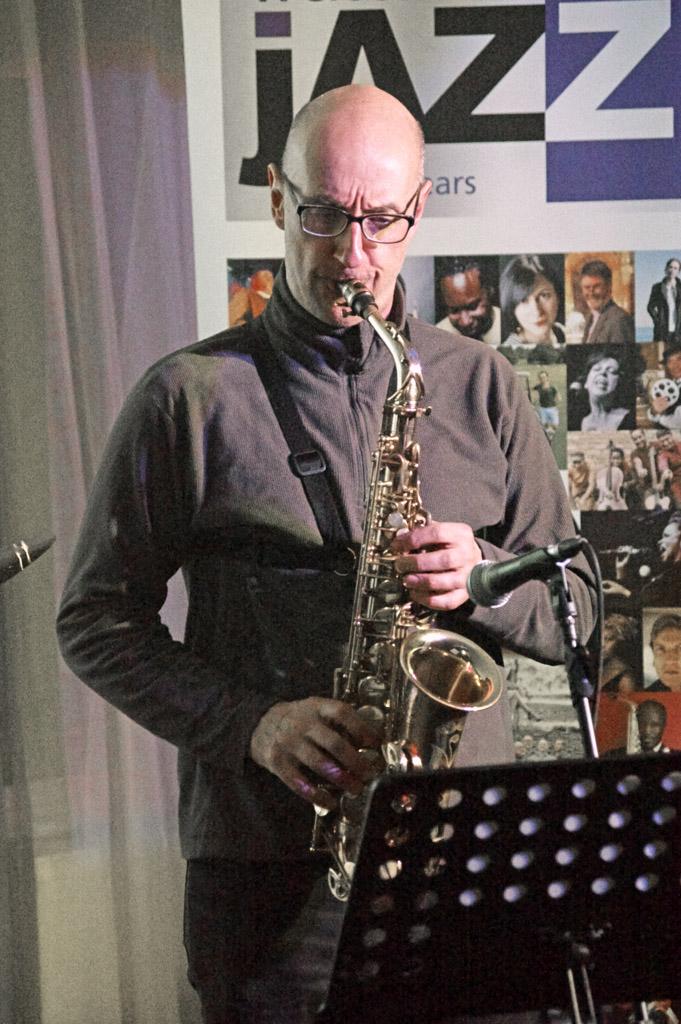 Martin Speake's International Quartet