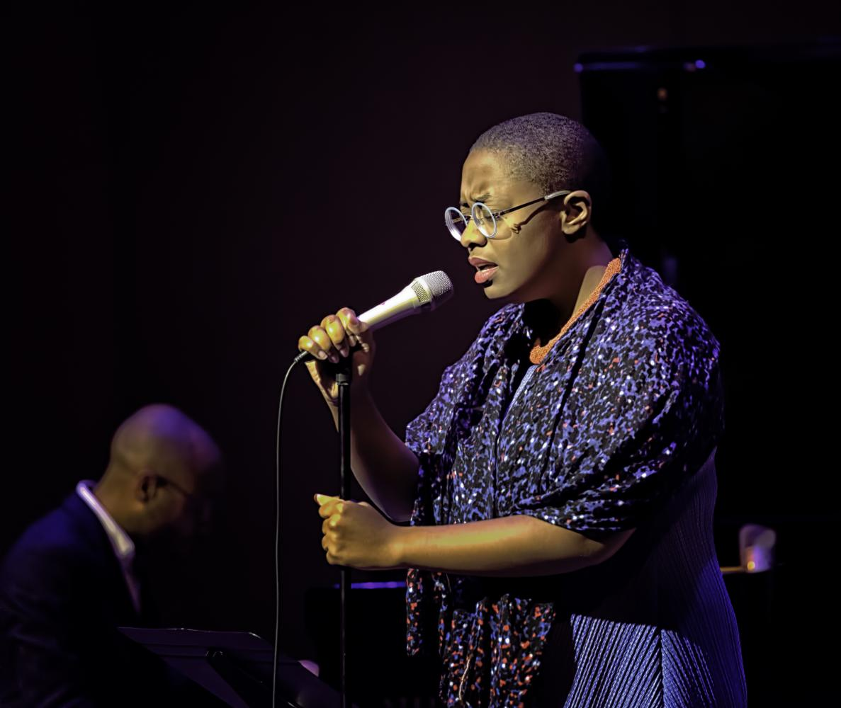Cecile Mclorin Salvant And Aaron Diehl At The Musical Instrument Museum (mim) In Phoenix