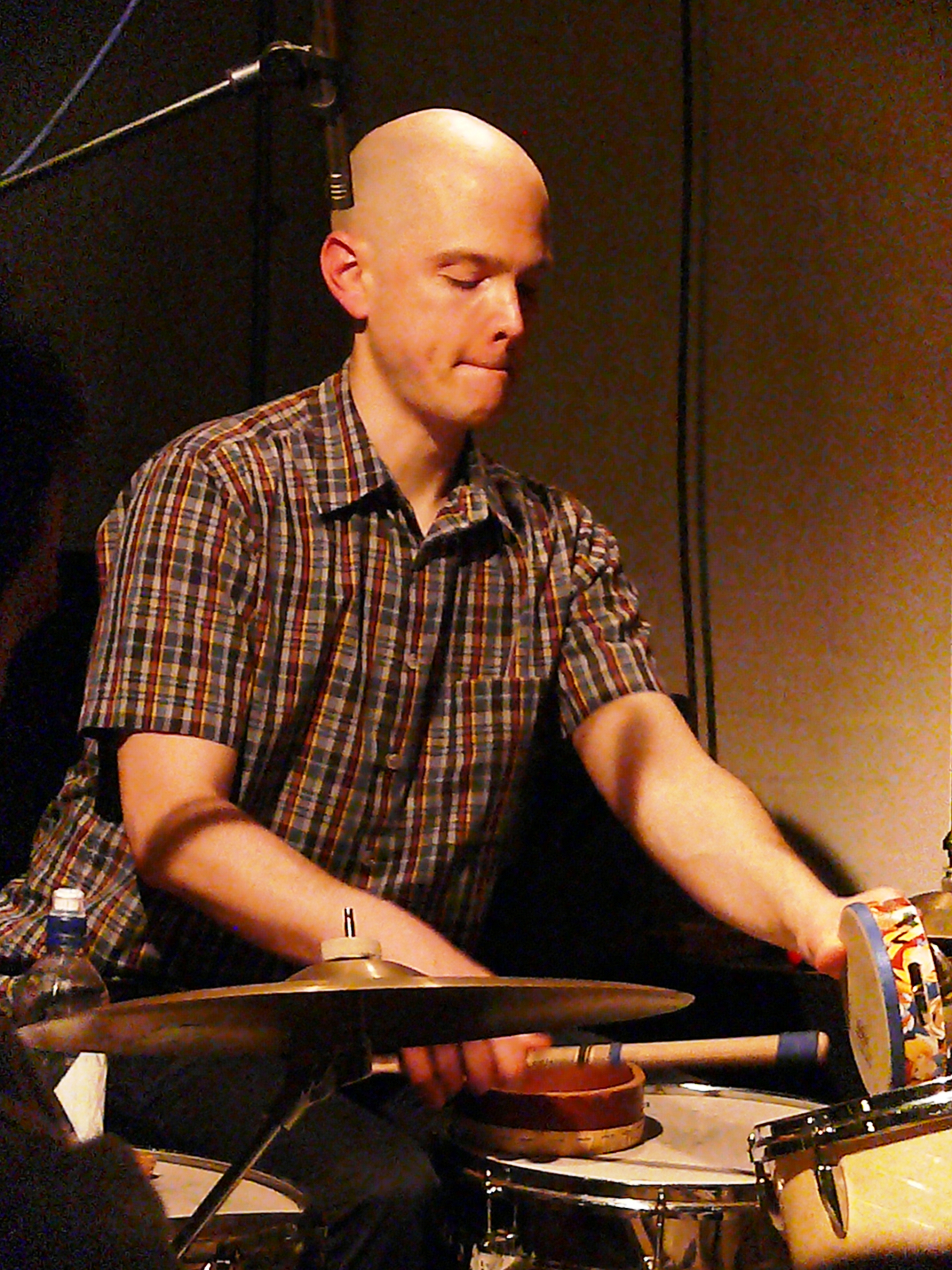 Chris Corsano at Cafe Oto in March 2017