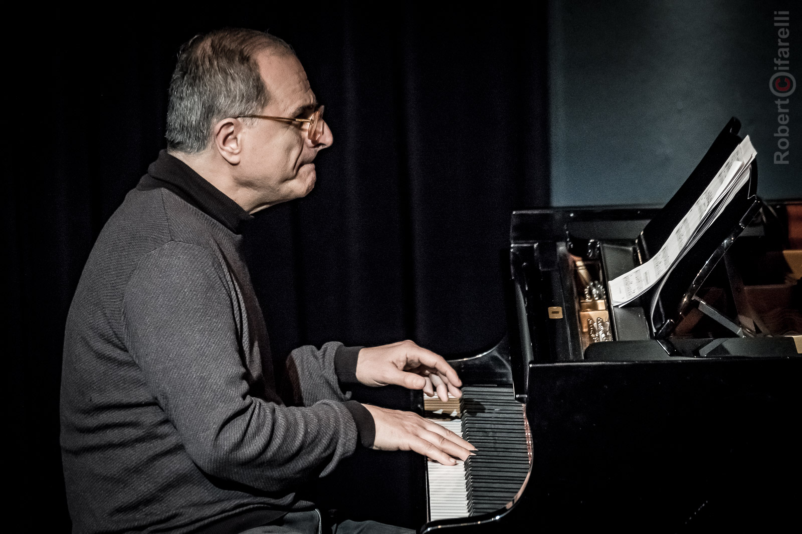 Enrico Pieranunzi Fly Trio at Bluenote in Milan