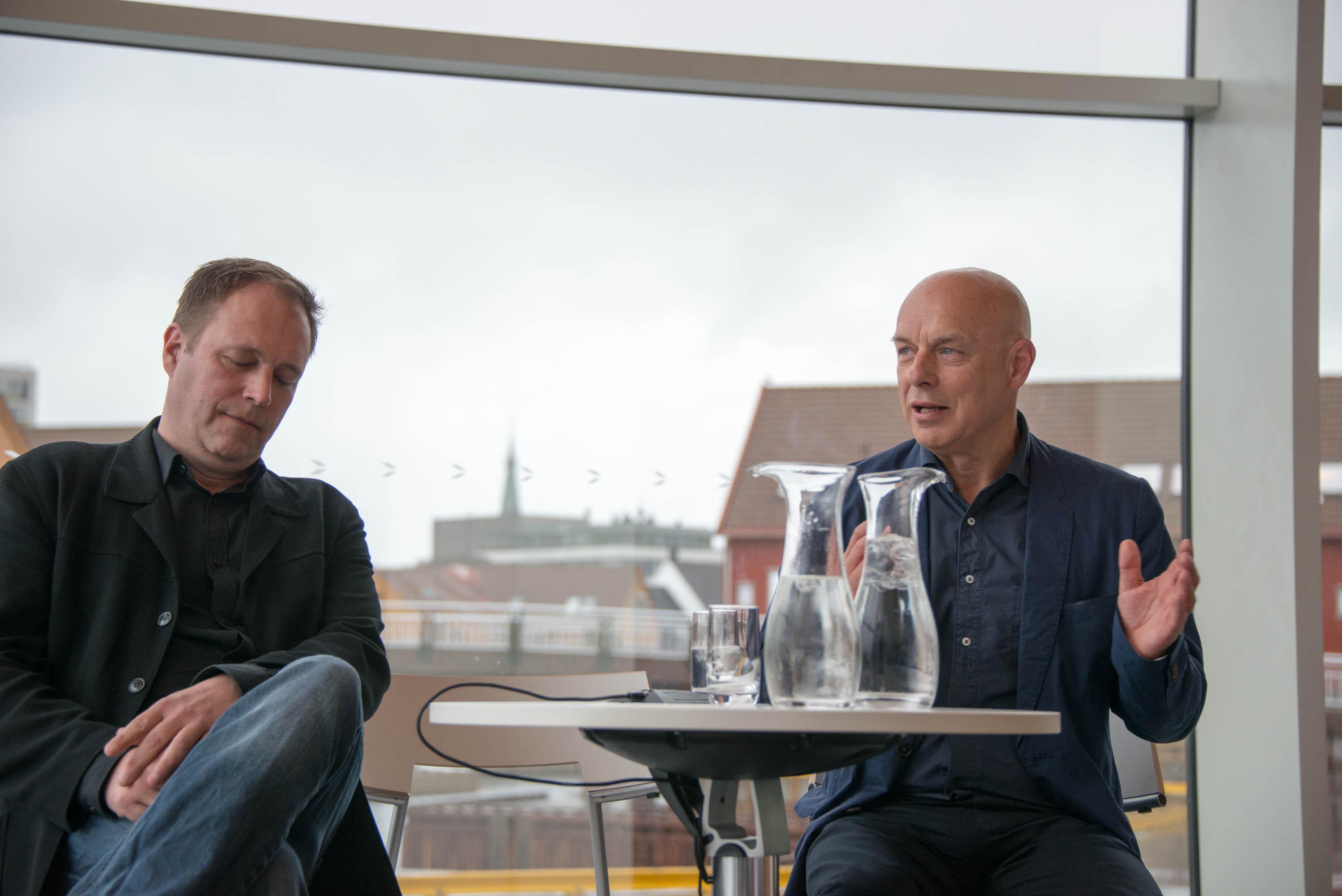 Punkt 2012: Brian Eno, Punkt 2012 Curator