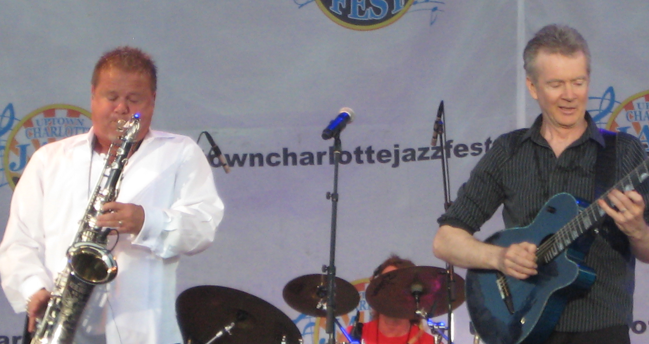 Euge groove,peter white,uptown jazz fest