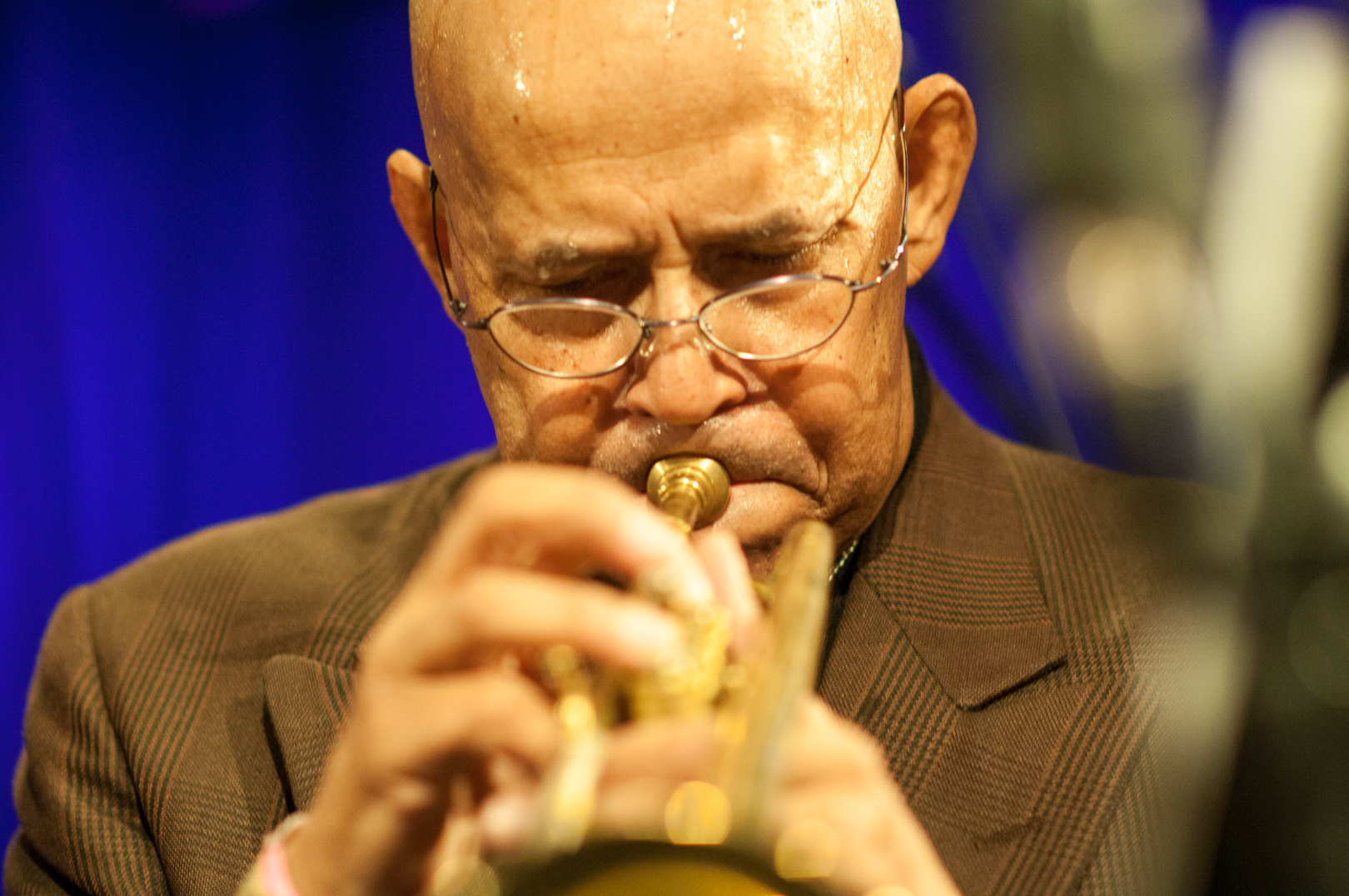 Eddie Henderson with the Cookers at le Poisson Rouge at Winter Jazzfest 2013