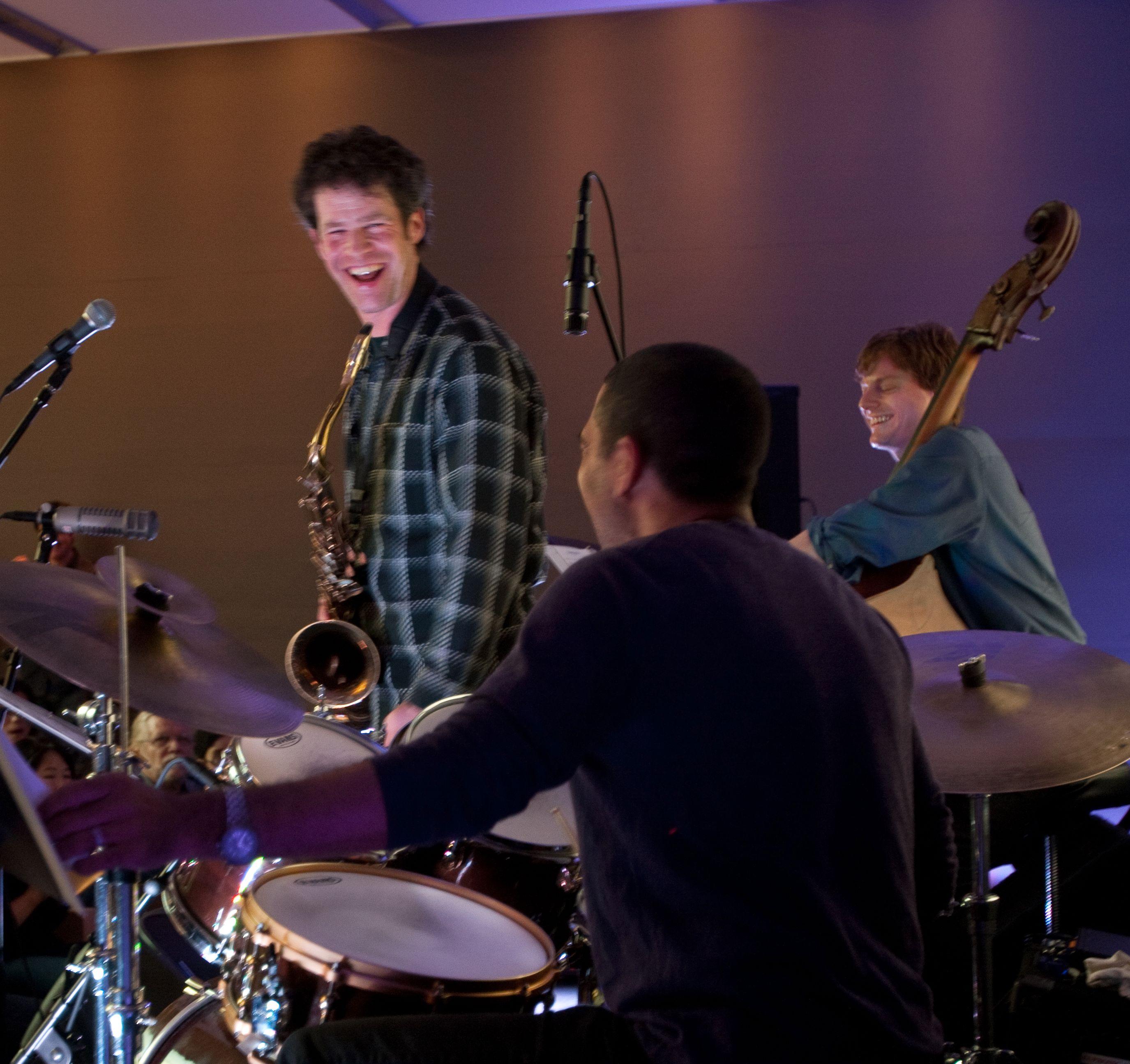 Anton Schwartz Quartet Live at the Apple Store