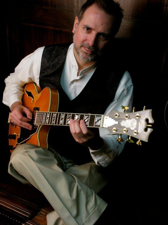 Guitarist Rick Stone
