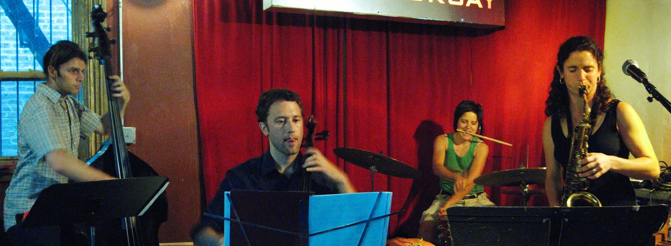 Jessica Lurie Quartet with Todd Sickafoose, Allison Miller and Brent Arnold - Barbs 2005