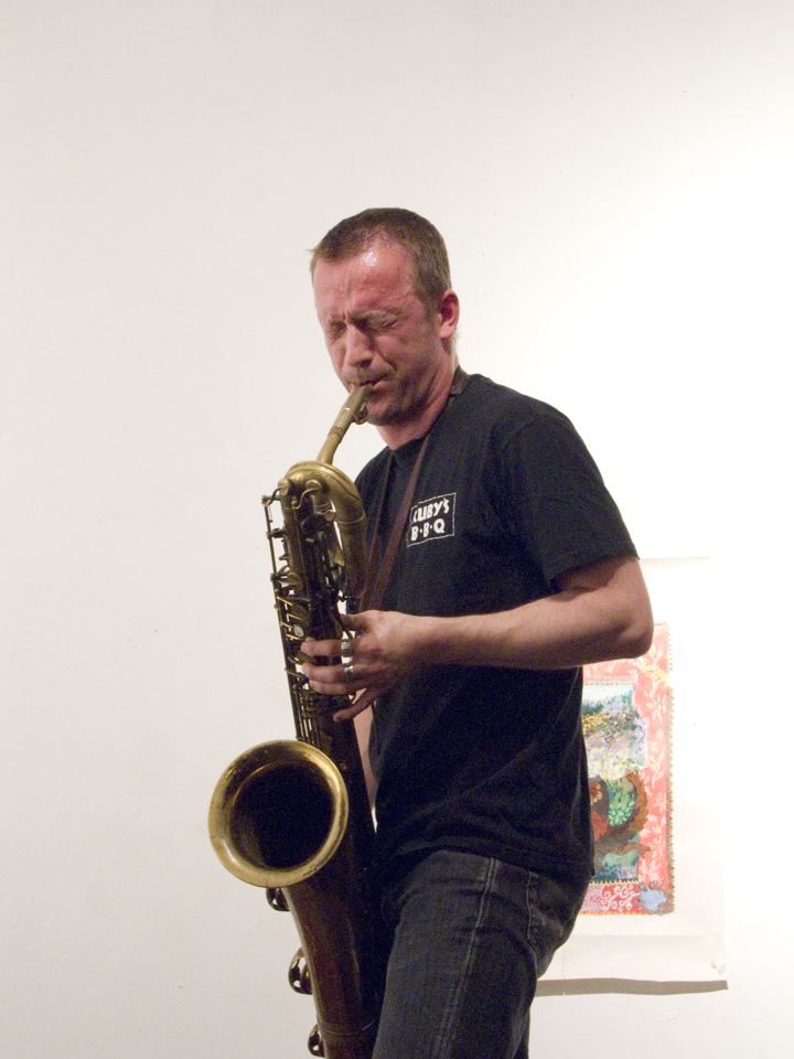 Mats Gustafsson (with the Thing) - The Clemente Soto Velez les Gallery 2007