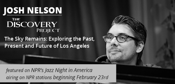 Josh Nelson on NPR's Jazz Night in America