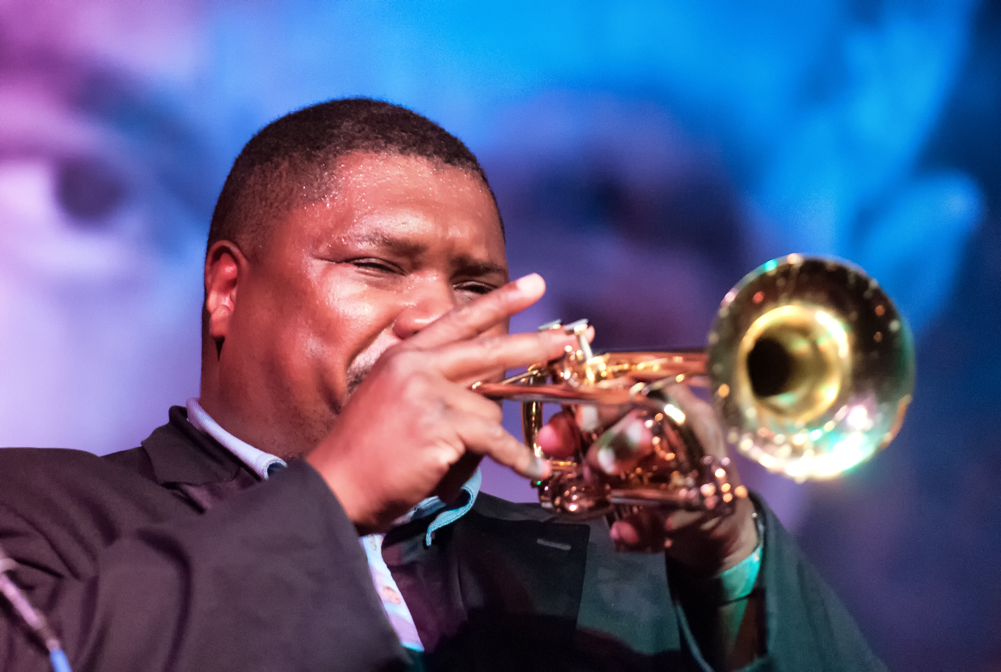 Wycliffe Gordon with the Columbia College Jazz Ensemble at the Jazz Showcase in Chicago