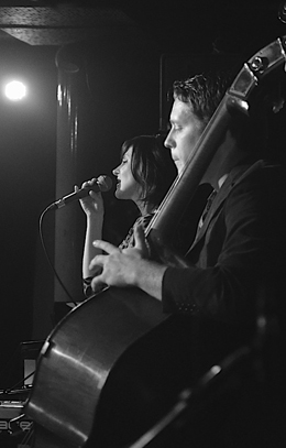 Georgia Mancio and Michael Janisch