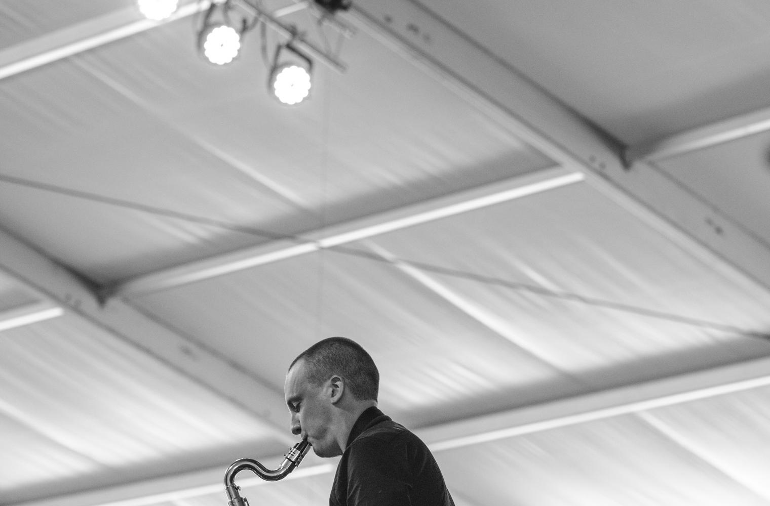 Rex Gregory at Jazz Fest