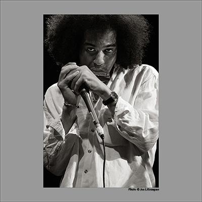 Gregoire Maret, Jazz a Liege, Belgium, May 2003