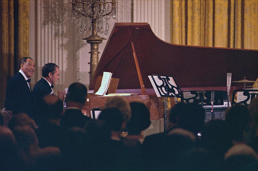 Duke Ellington and Richard Nixon