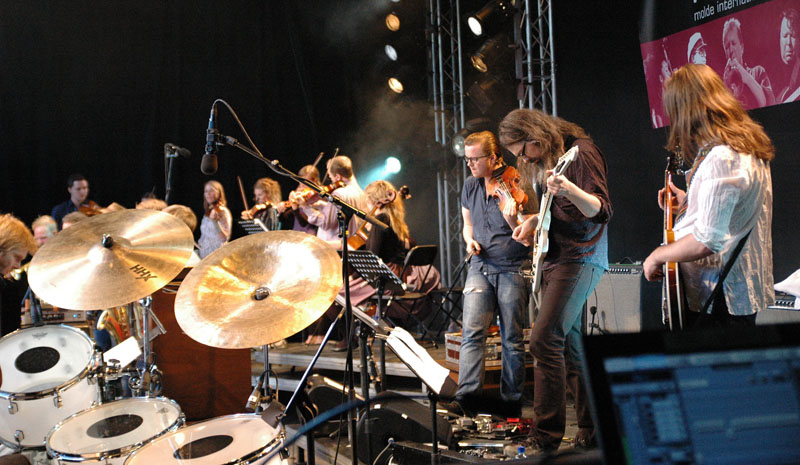 Motorpsycho Performing with Trondheim Jazz Orchestra and Trondheimsolistene at Molde Jazz 2010
