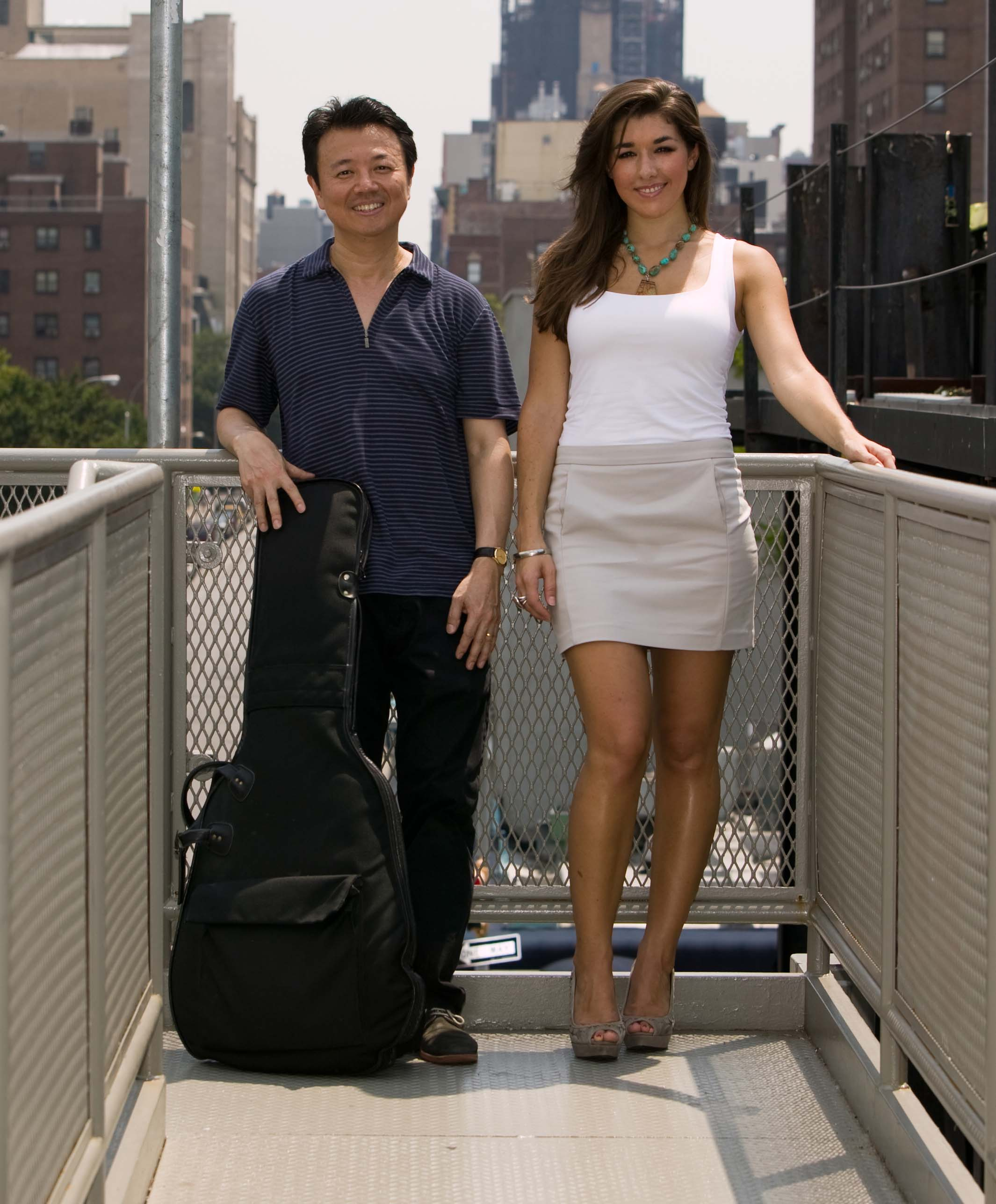 Gene Ess and Thana Alexa Duo