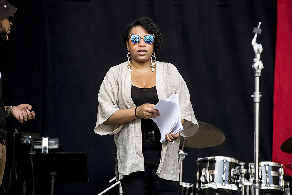 Charenee Wade at the 2017 Charlie Parker Jazz Festival
