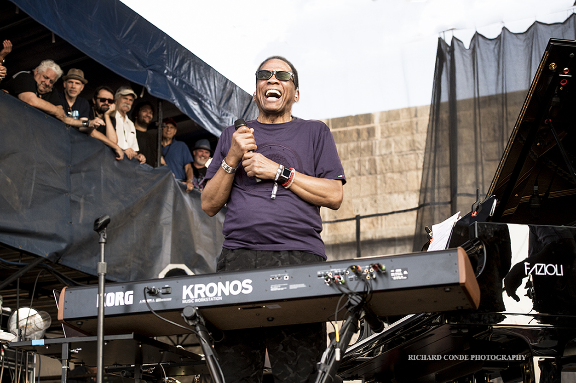 Herbie Hancock at the 2019 Newport  Jazz Festival