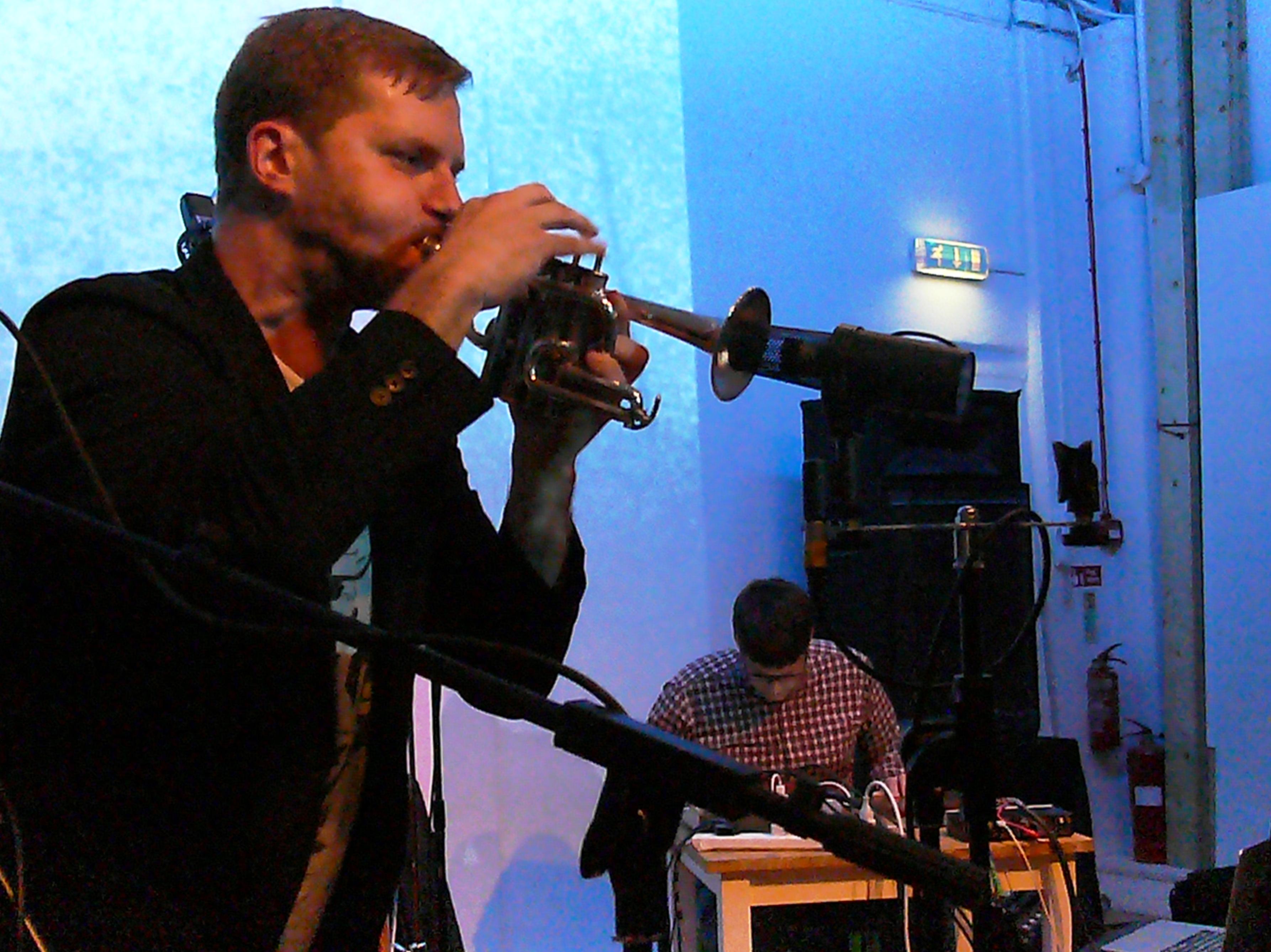 Peter Evans and Sam Pluta at Iklectik, London in November 2016