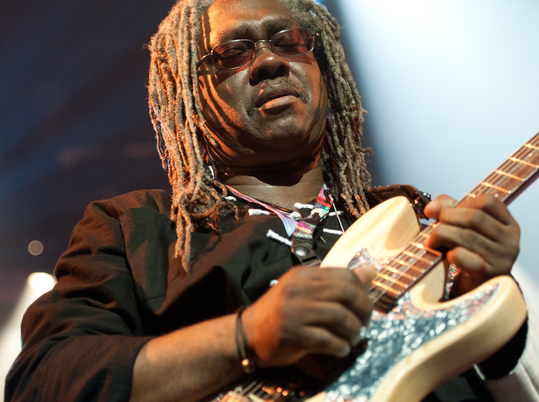 Blackbyrd McKnight with Bootsy Collins' Funk U-Nity Band at the Montreal International Jazz Festival 2011