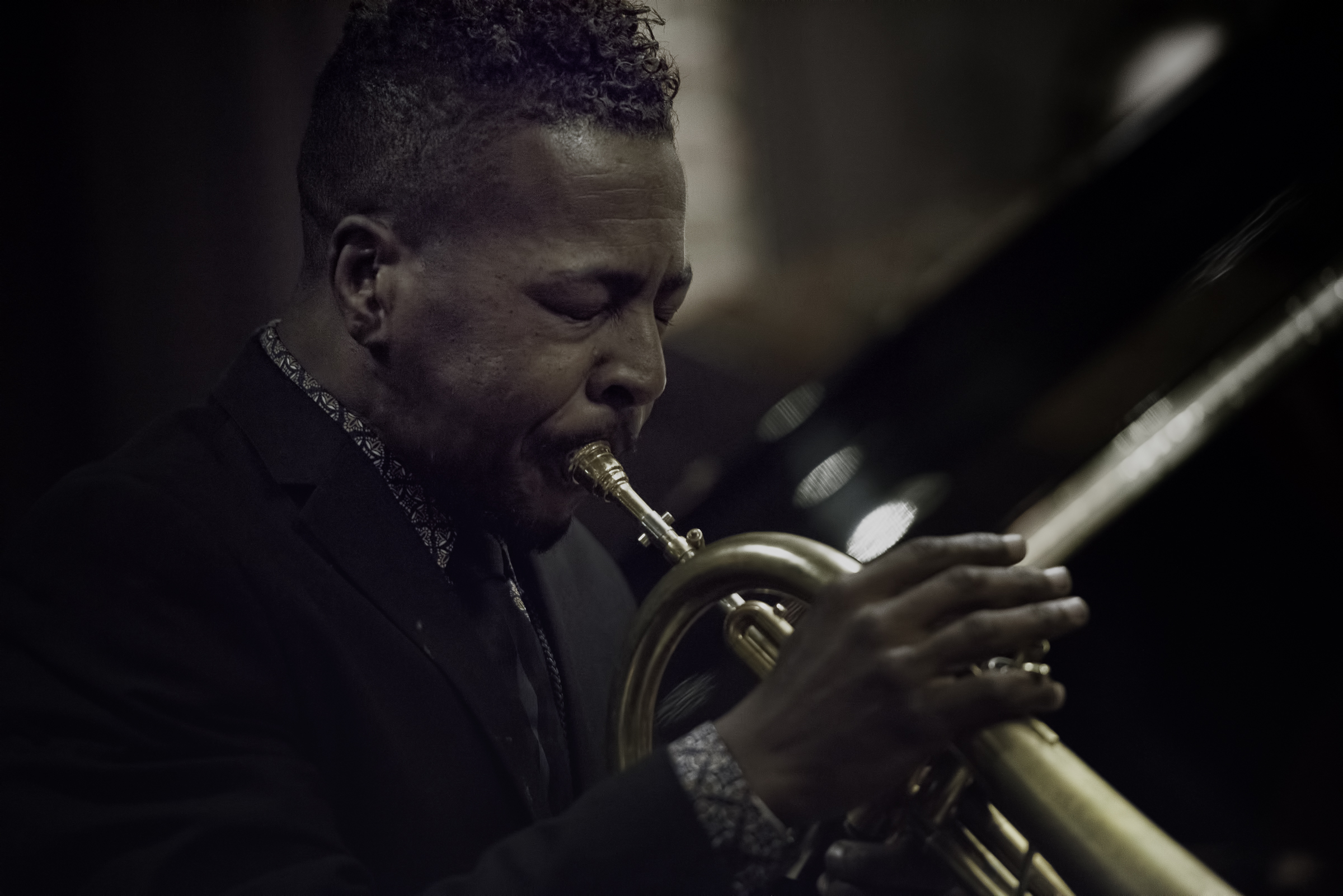 Roy Hargrove at the Hotel Jam Sessions at the Monterey Jazz Festival