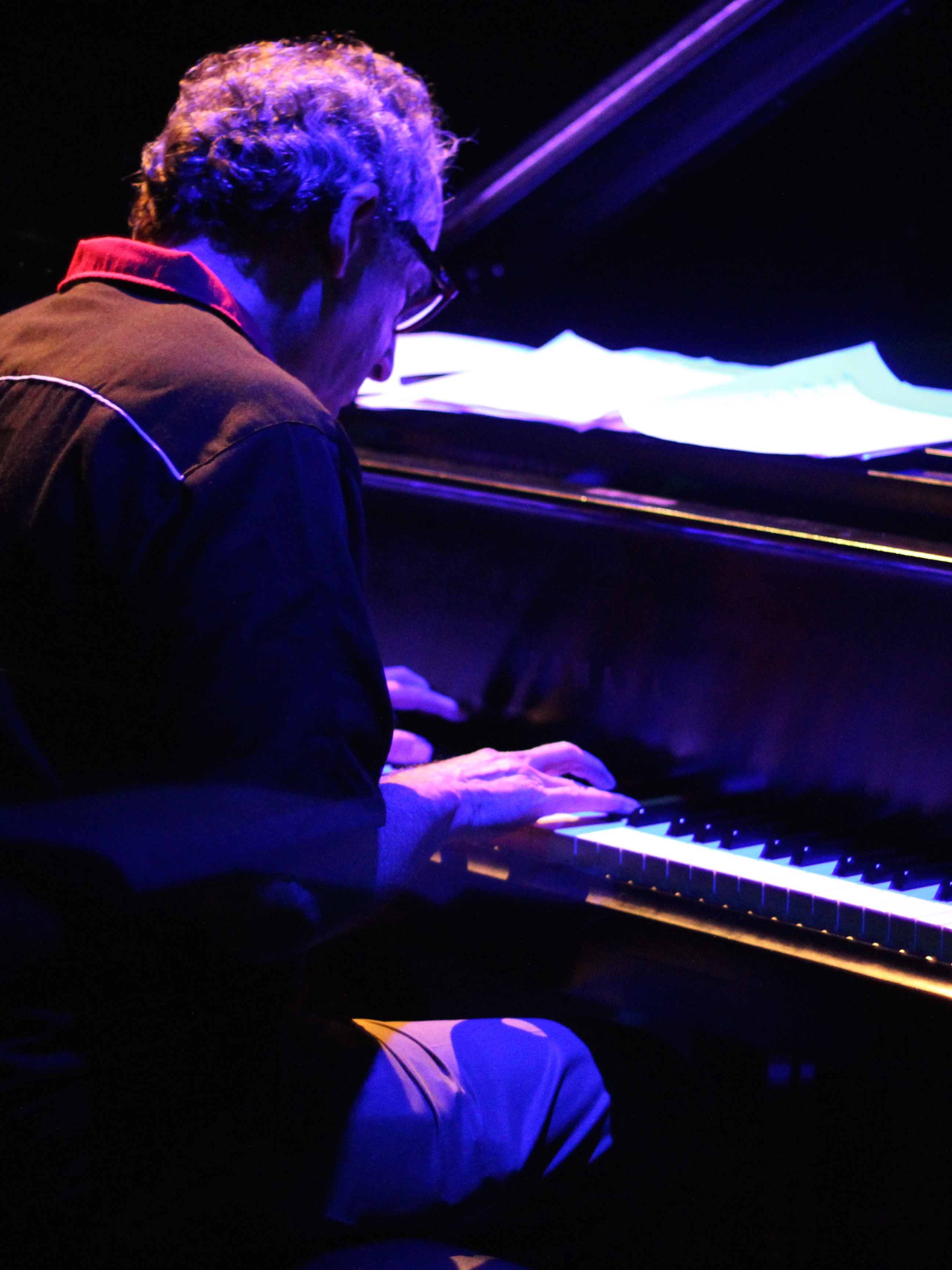 George Kahn at teh Piano