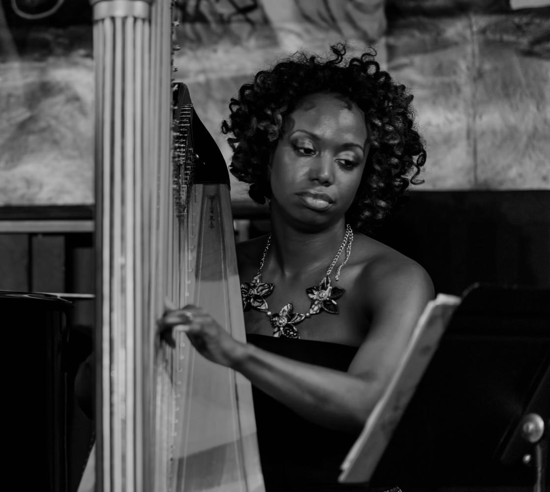 Brandee Younger at Minton's in Harlem
