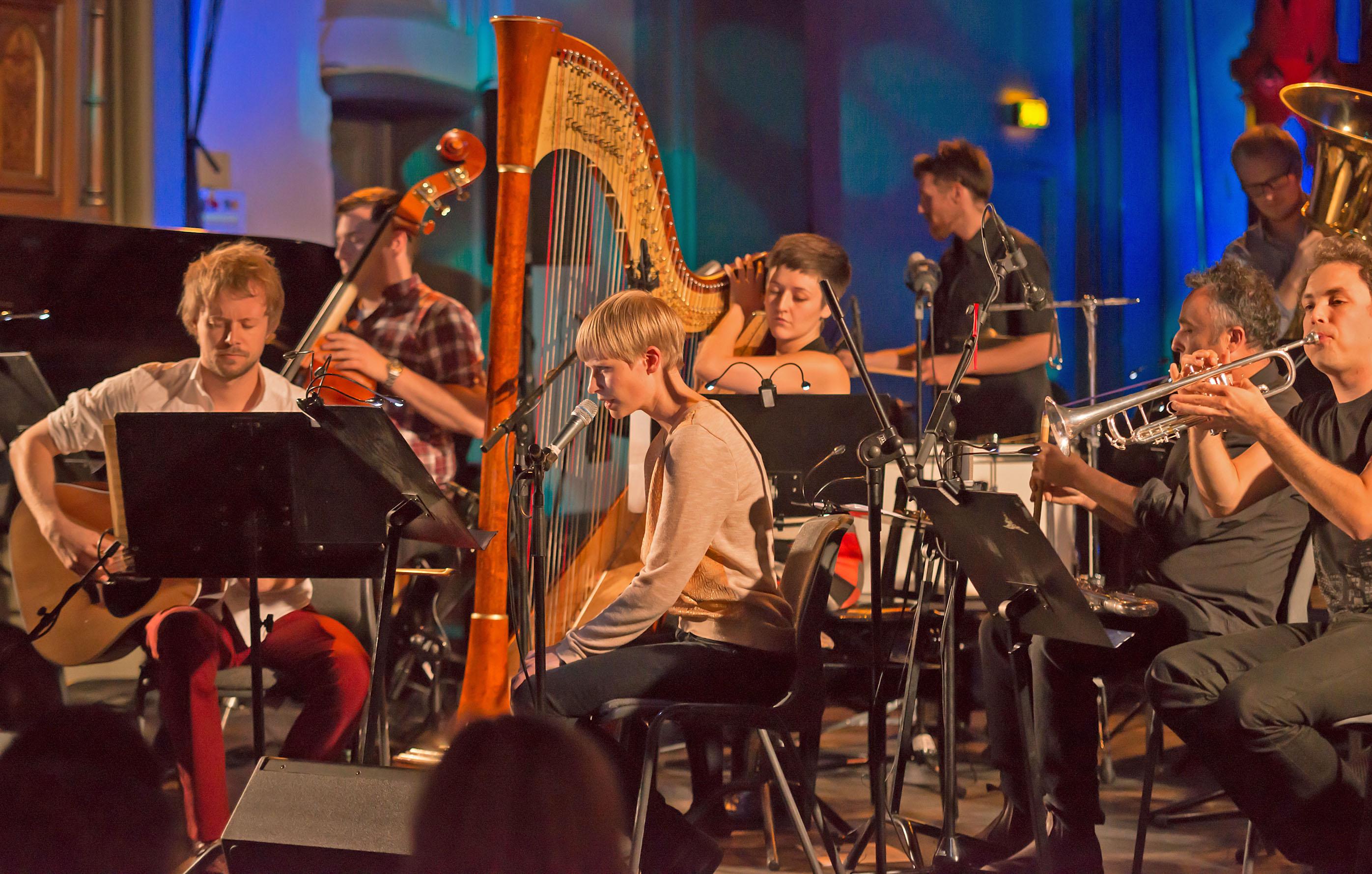 Trondheim Jazz Orchestra with Kim Myhr, 2012 Ultima Festival