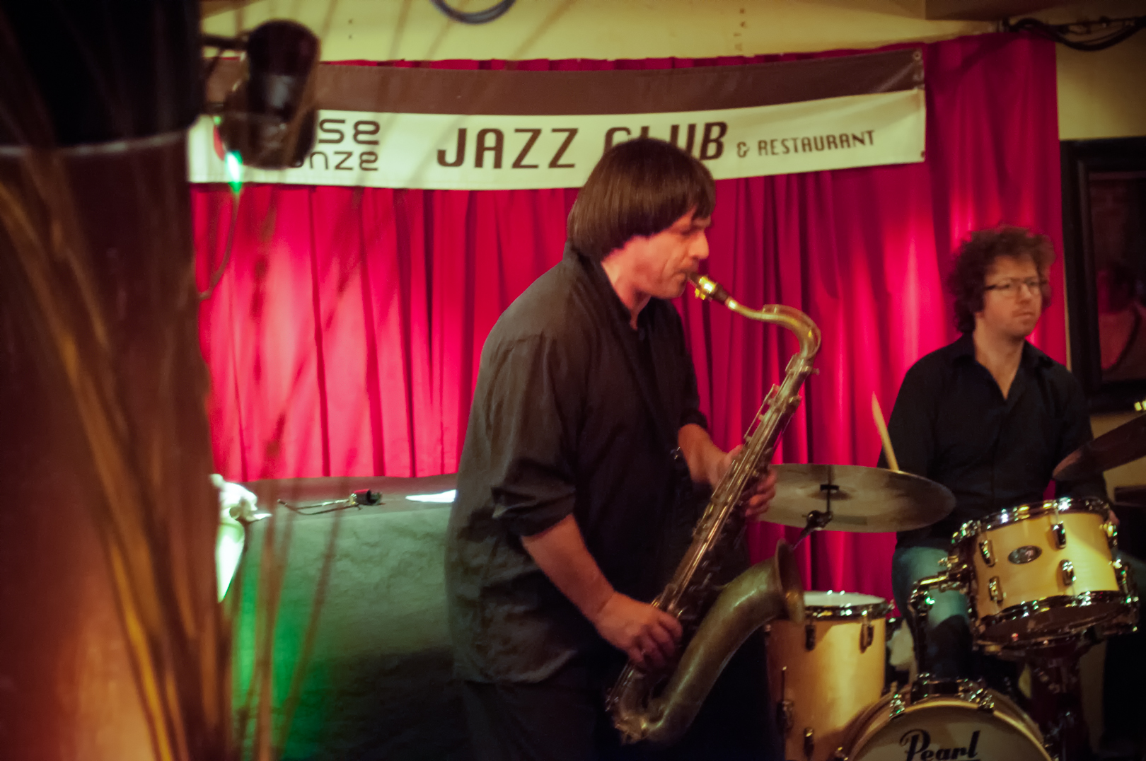 Yannick Rieu and Kevin Warren at Diese Onze in Montreal