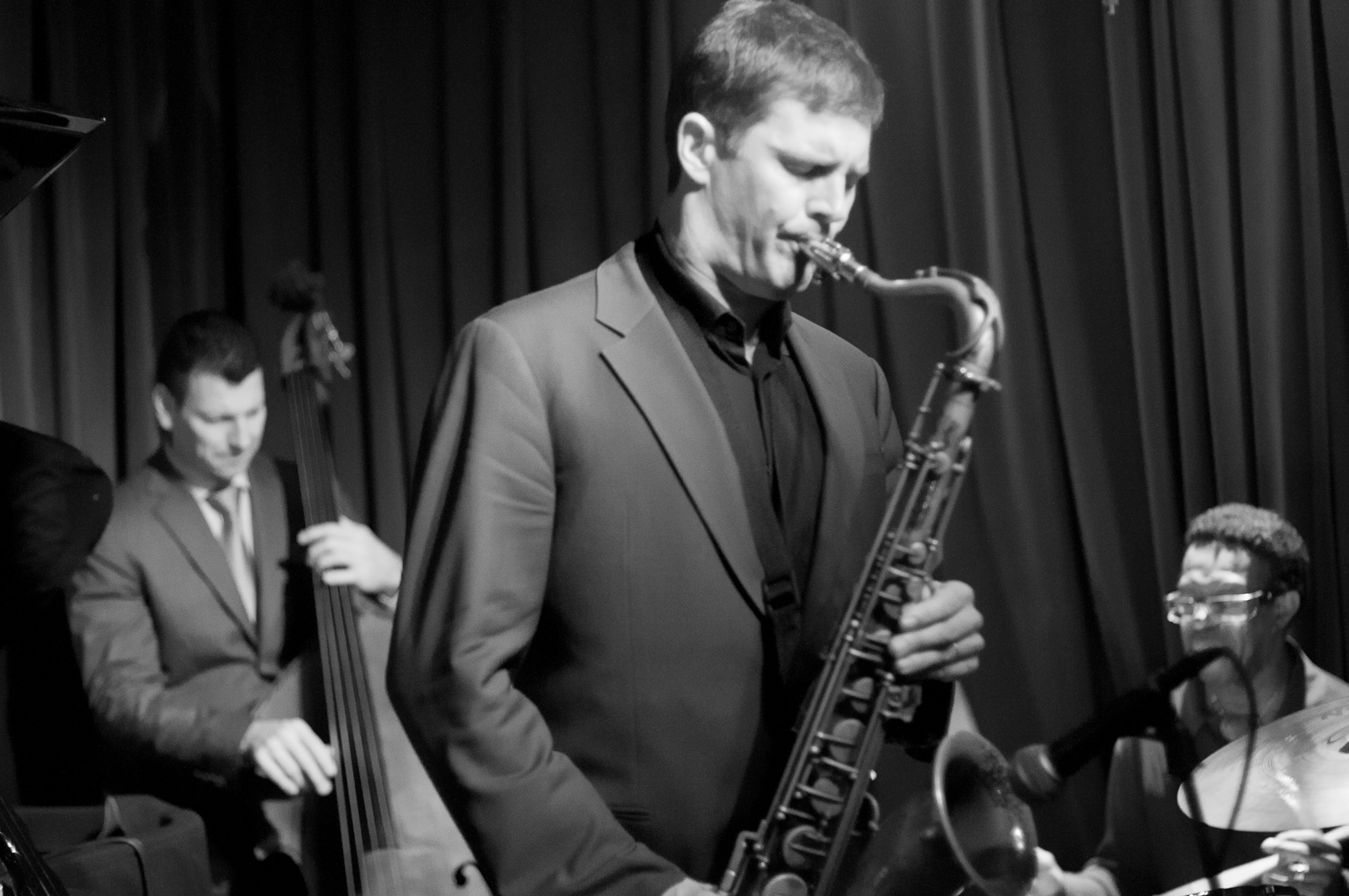 John Weber, Eric Alexander and Louis Hayes with the Alexander & Mabern Quartet Play the Music of John Coltrane at Smoke Jazz Club