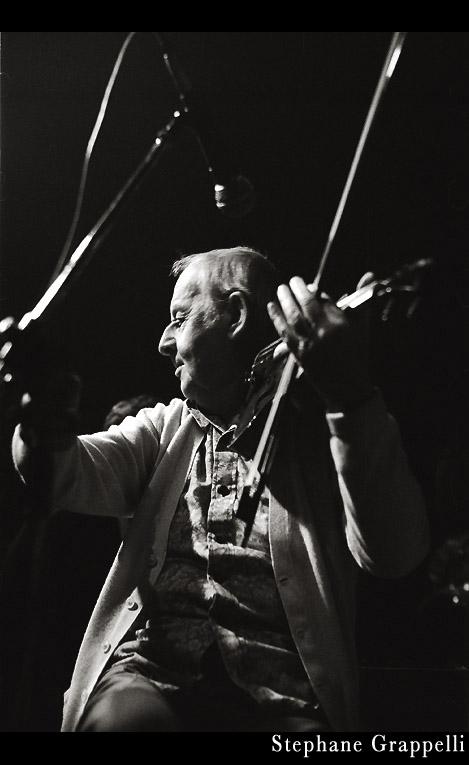 Stephane Grappelli, 1987