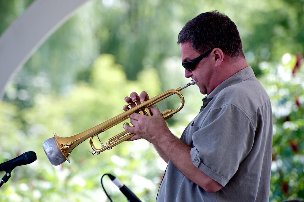 Kevin Turcotte - Barry Elmes Quintet - Markham Jazz Festival 2012