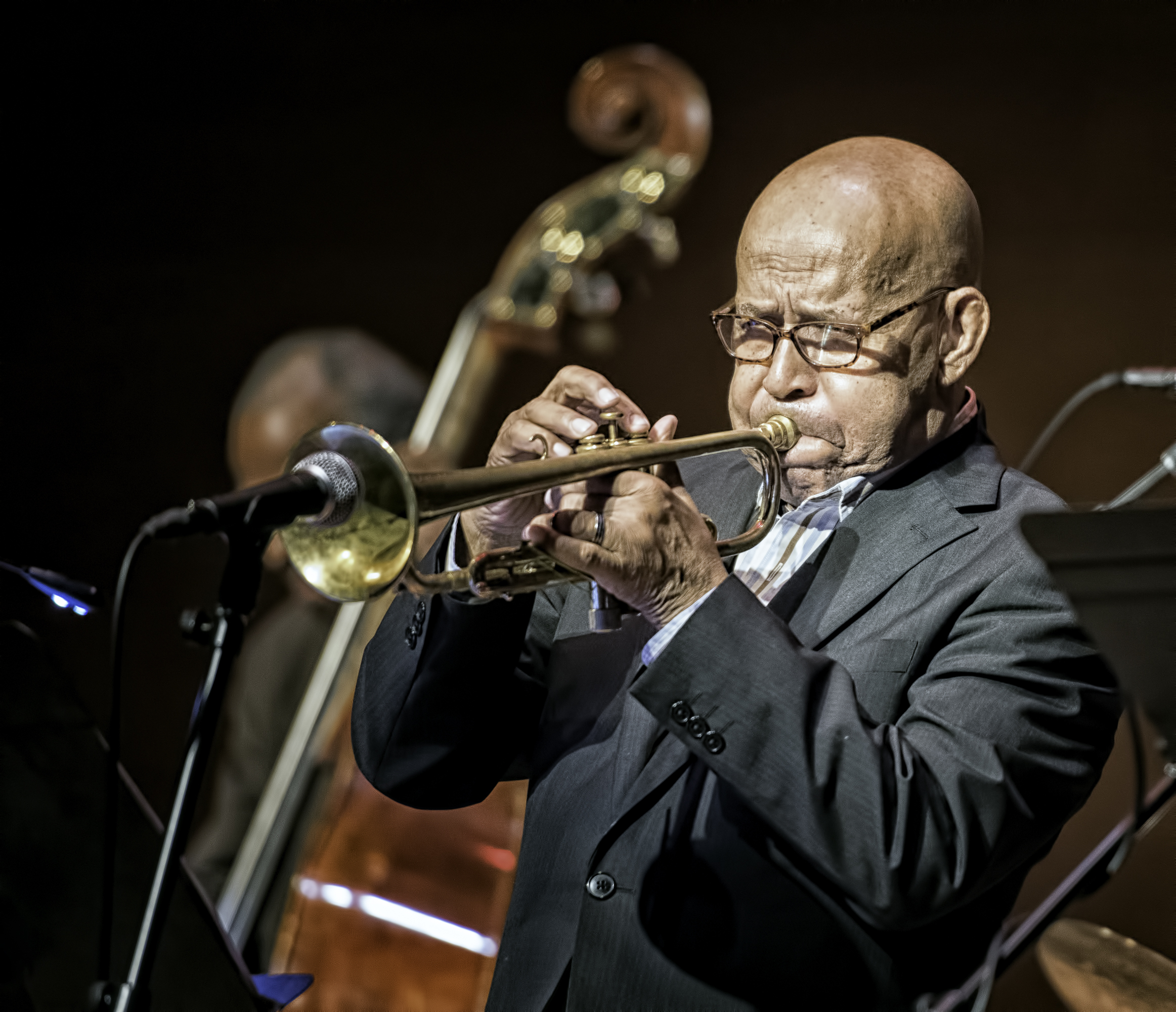 Eddie Henderson With The Cookers At The Musical Instrument Museum (mim) In Phoenix