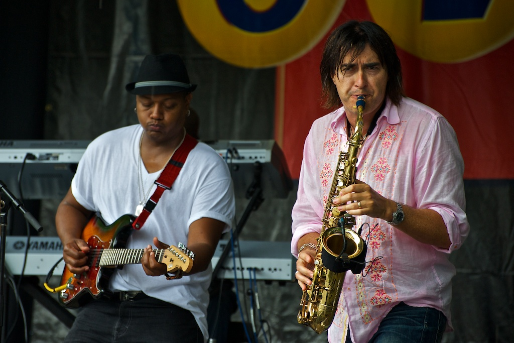 Warren Hill, Beaches International Jazz Festival 2010