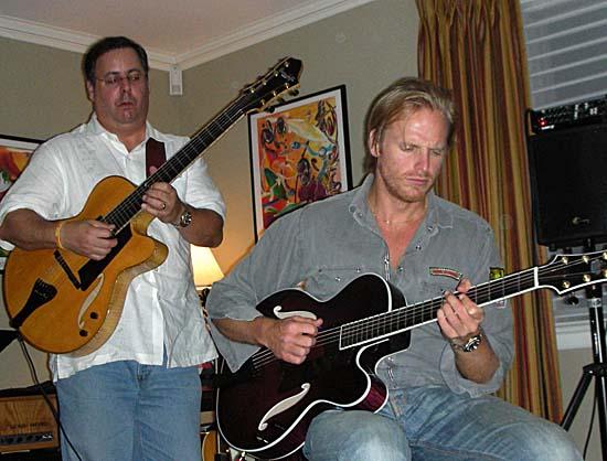 Howard Paul and Andreas Oberg