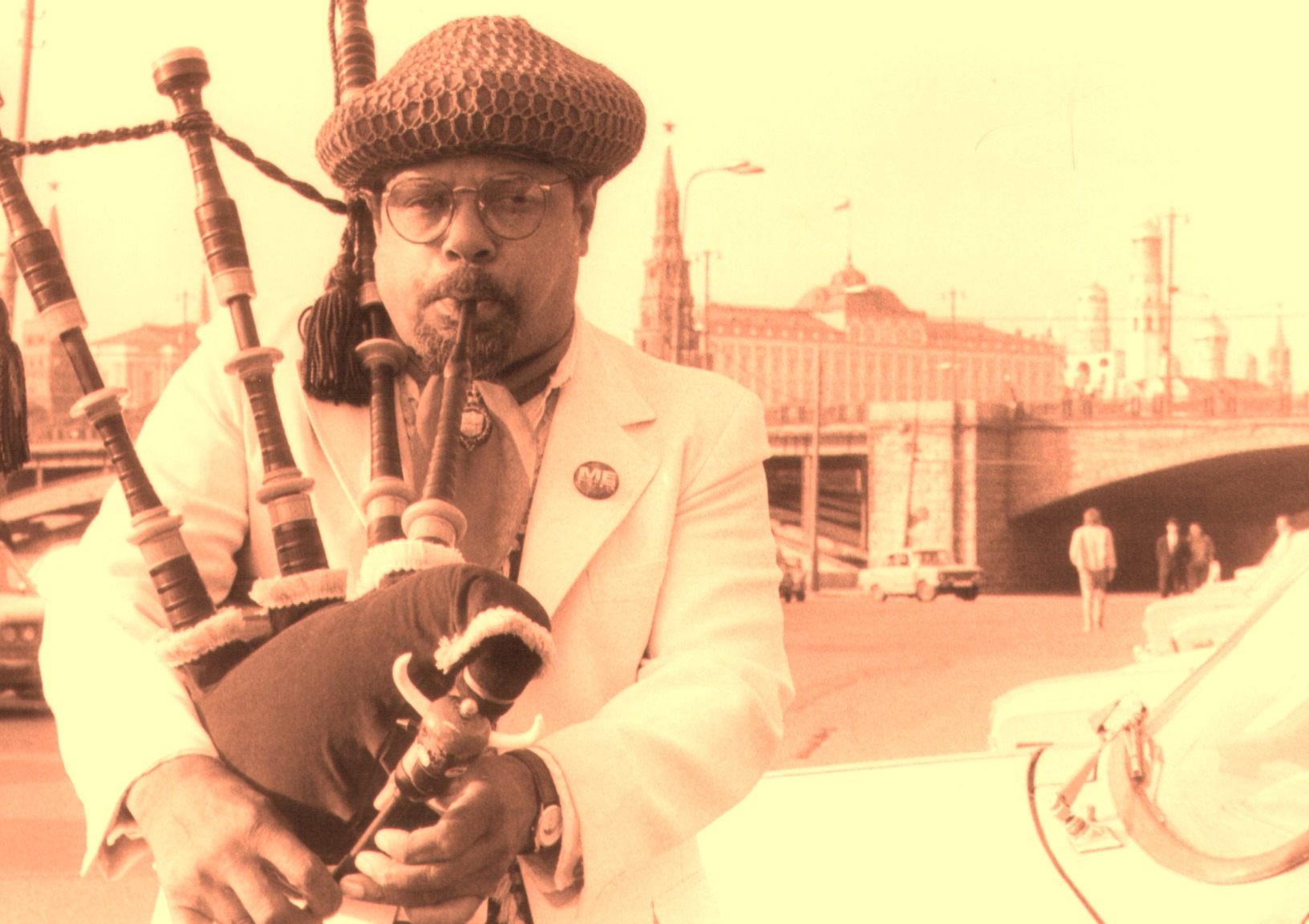 Rufus Harley Bagpipe (in Moscow, 1990)