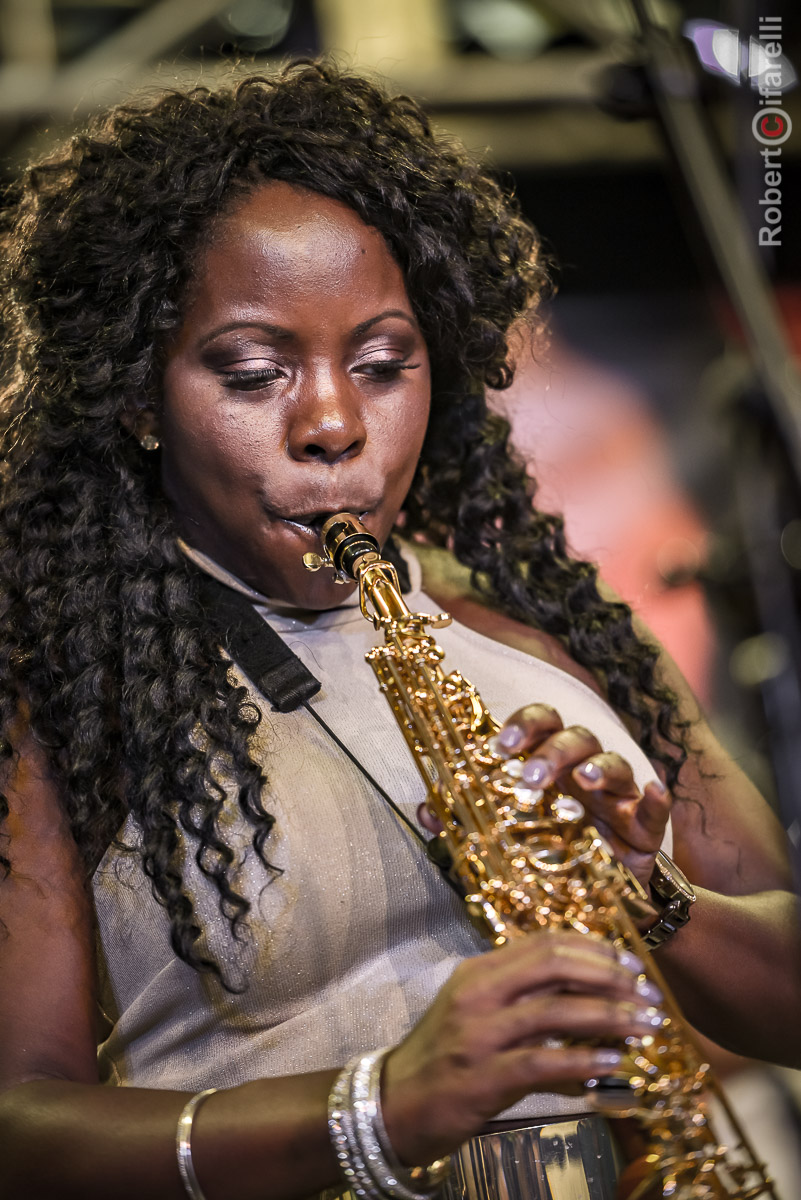 Tia Fuller - 60th Monterey Jazz Festival, 2017