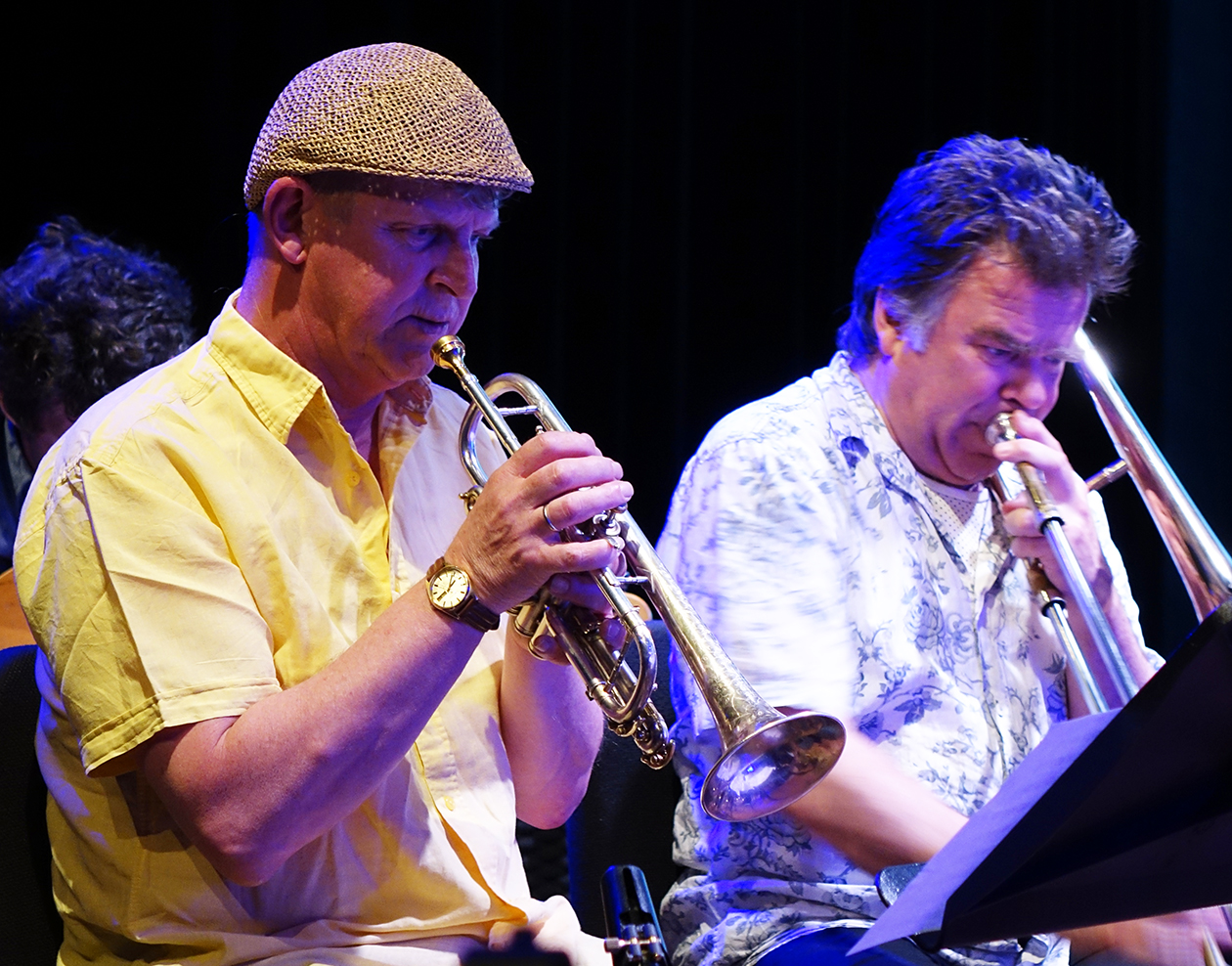 Eric Boeren and Wolter Wierbos at Doek Festival 2015