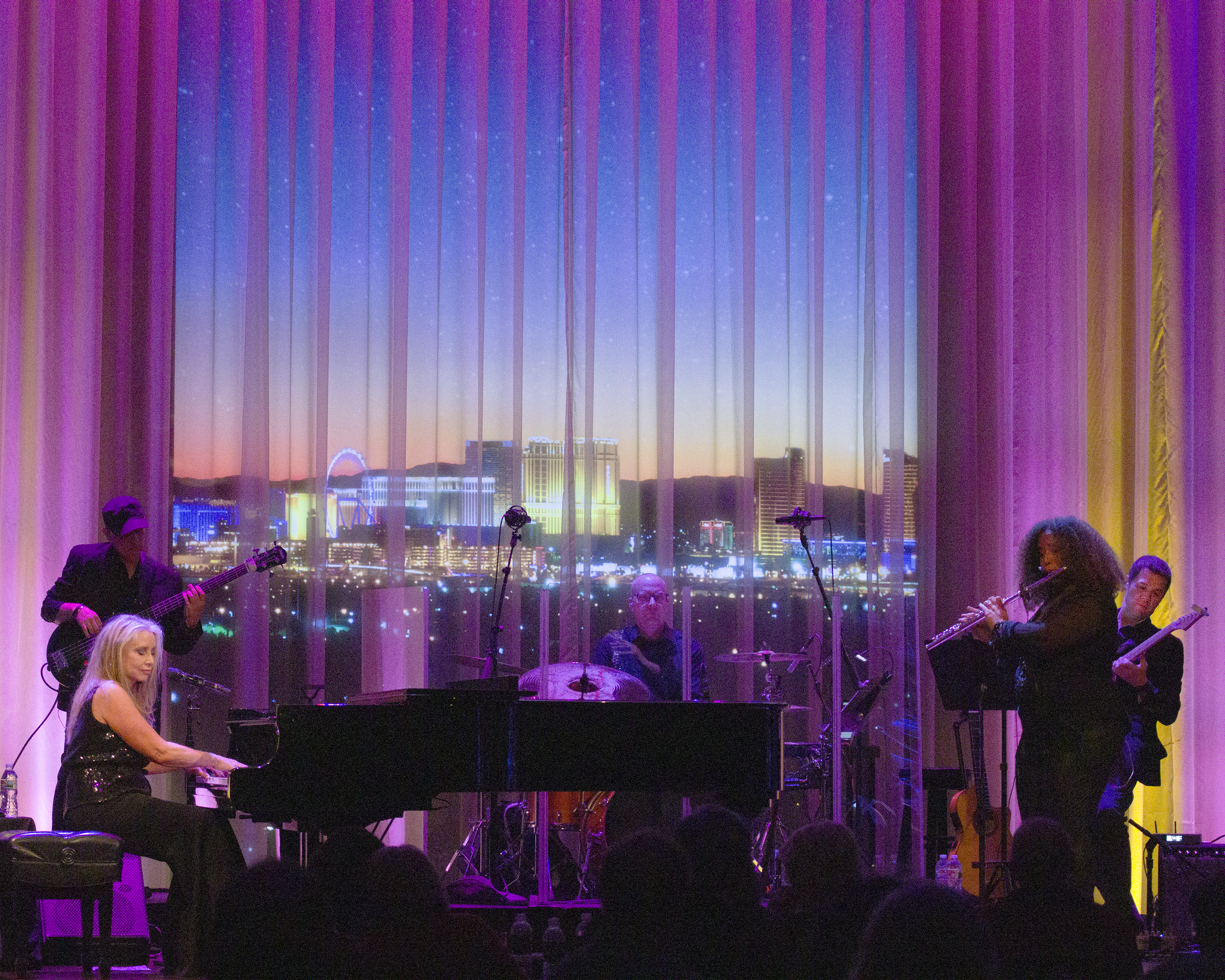 Carol Albert Show Myron's Cabaret Jazz at The Smith Center , Las Vegas