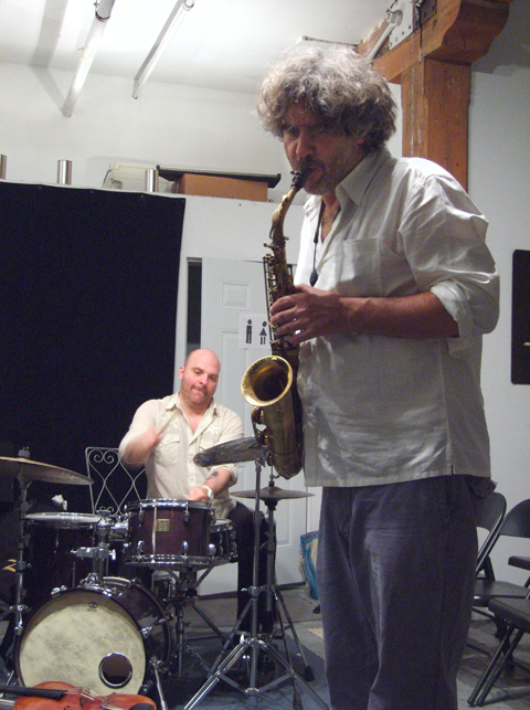 Tim Berne and David King with Buffalo Collision - Center for Improvisational Music 2007