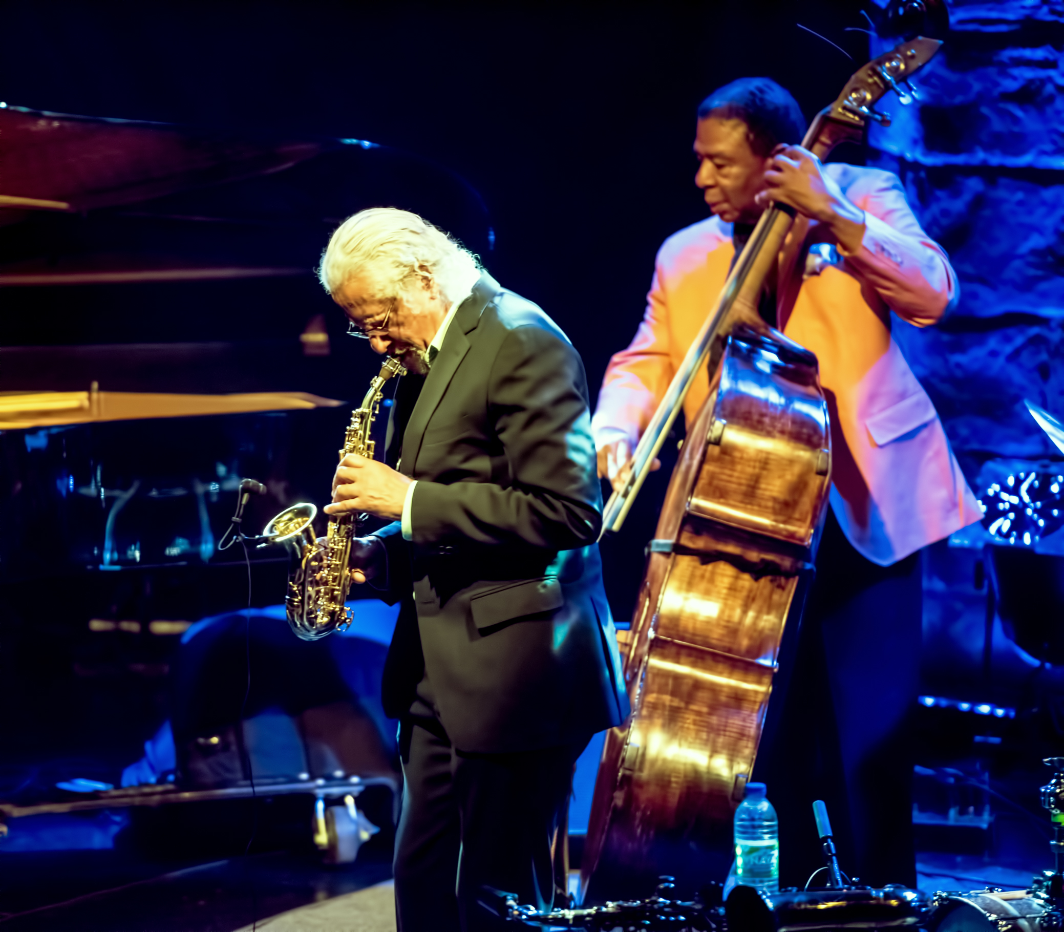 Gary Bartz and Buster Williams with Heads of State at the Montreal International Jazz Festival 2015
