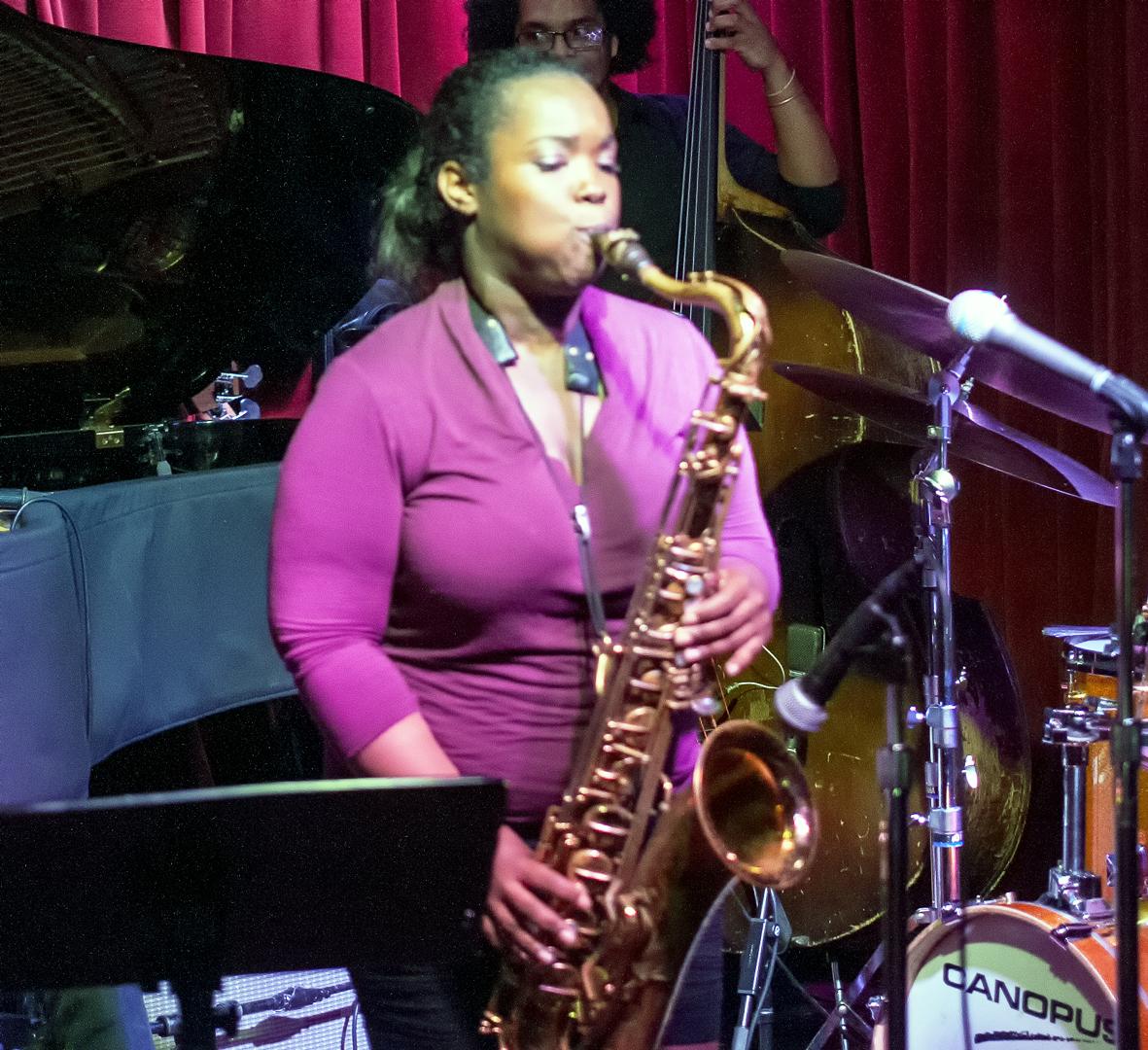 Camille Thurman at Smoke Jazz Club