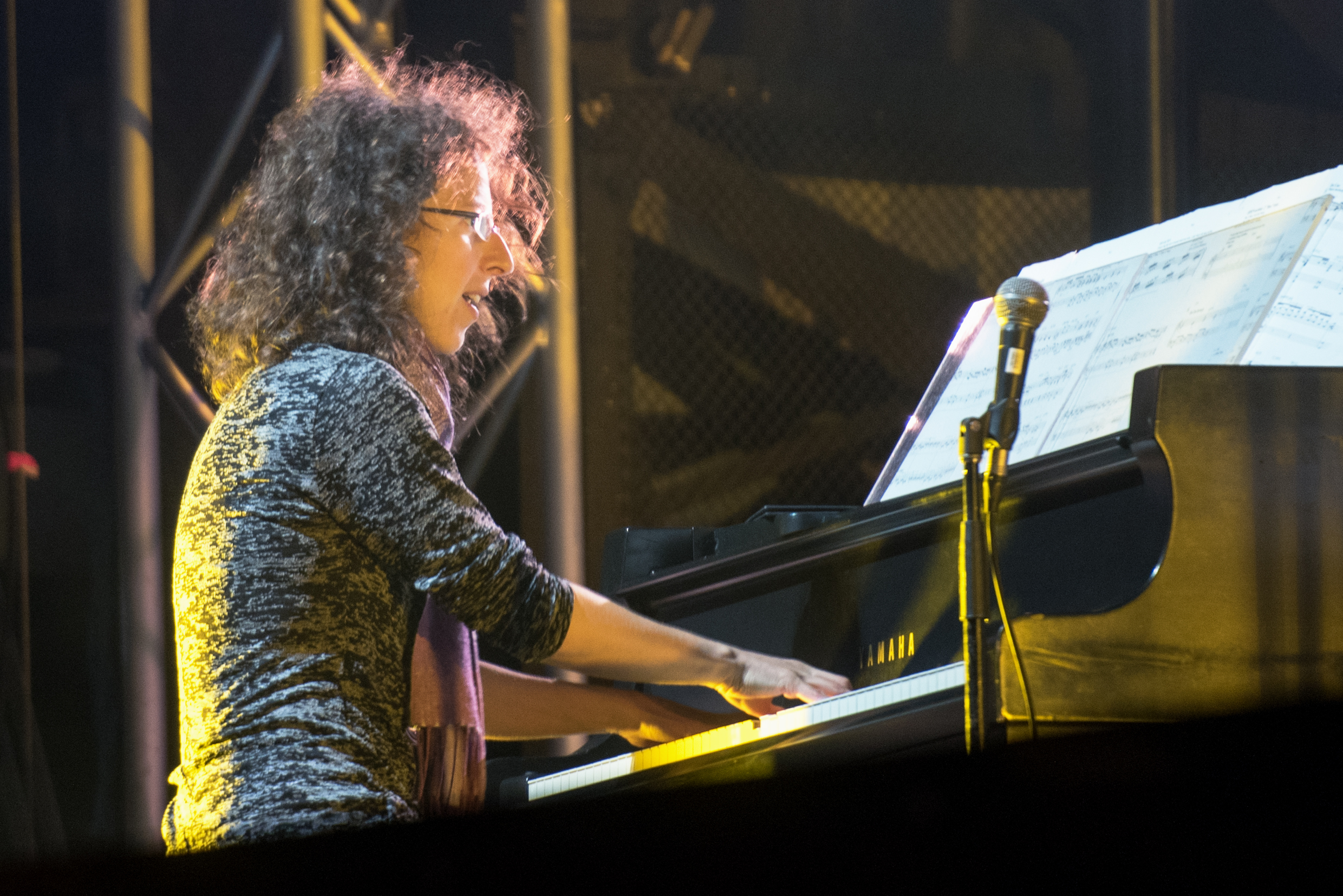 Marianne Trudel With The Orchestre National De Jazz De Montreal At The Montreal Jazz Festival 2015