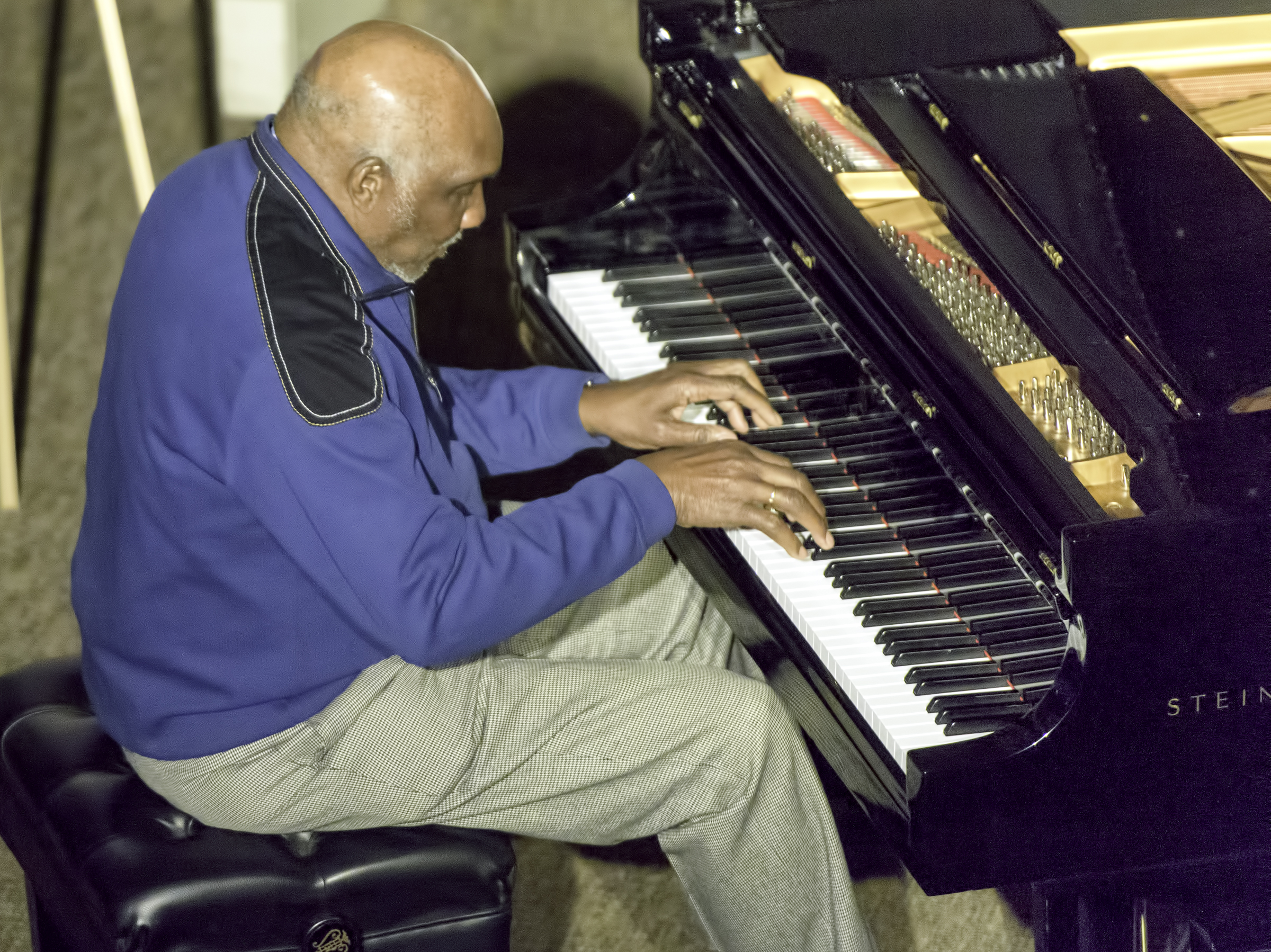 Harold Mabern at the Jazz Legends for Disability Pride at the NYC Winter Jazzfest 2016