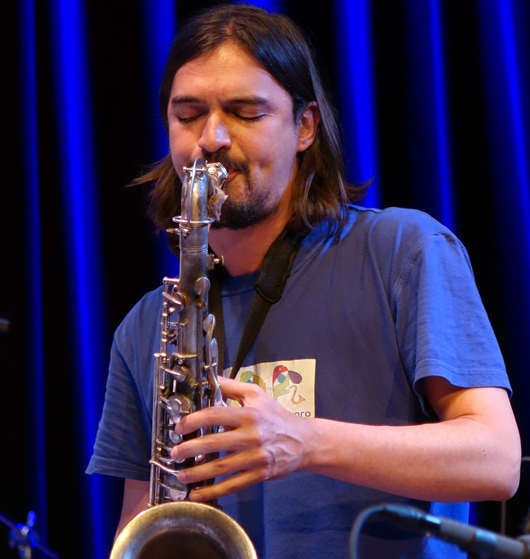 John Dikeman at Doek Festival 2015