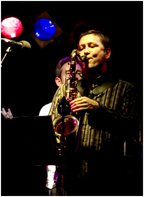 Julian Nicholas, Imperial Wharf Jazz Festival, London