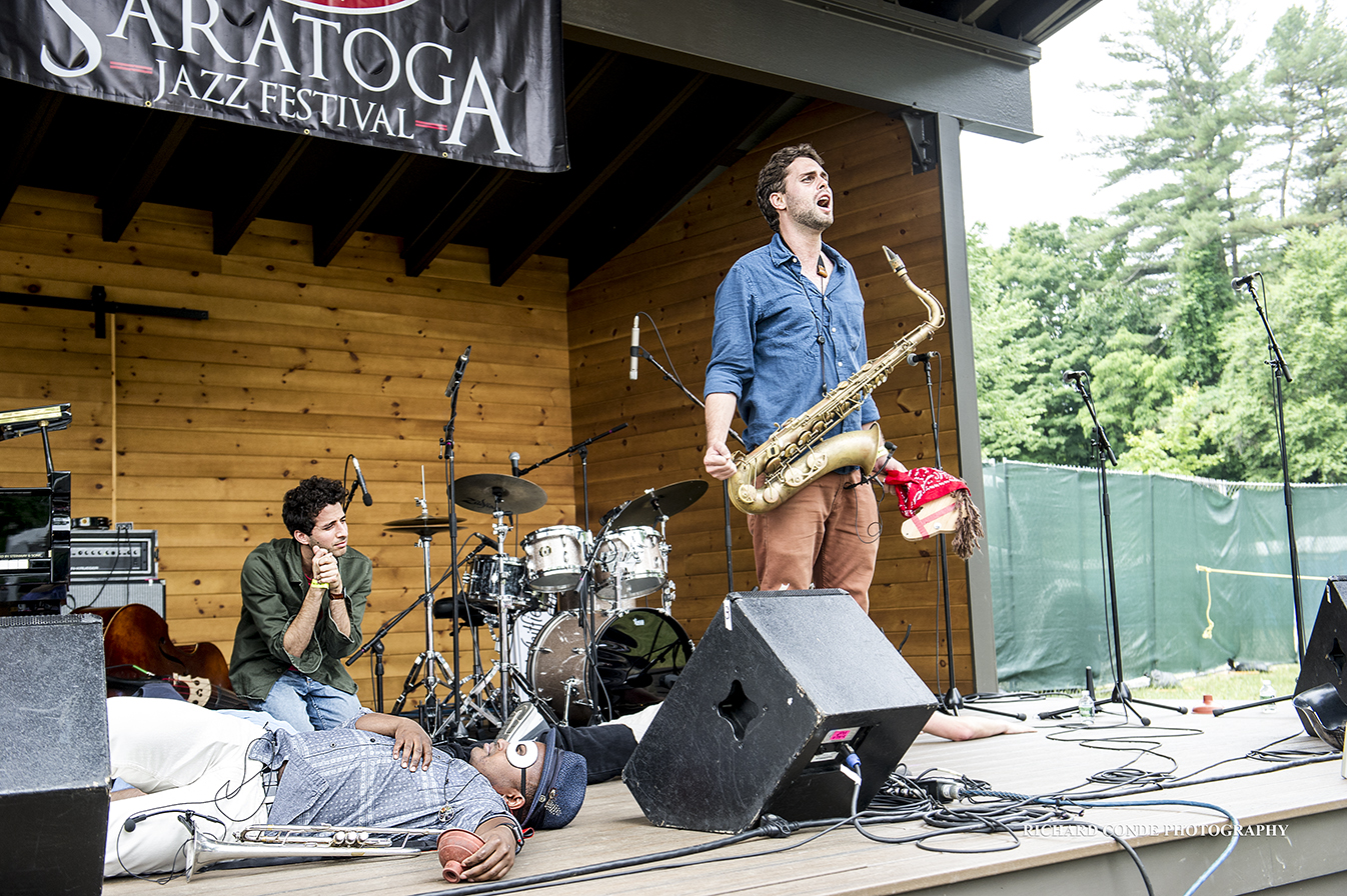 Sammiy Miller and the Congregation at the 2018 Freihofer Saratoga Jazz Festival