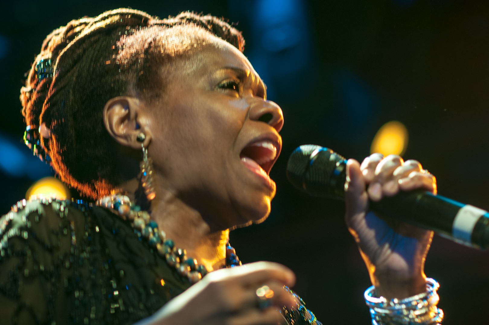 Catherine Russell at le Poisson Rouge at Winter Jazzfest 2013