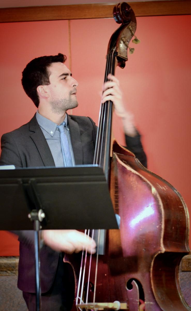 the Carl Bartlett, Jr. Quartet at Kitano Jazz Nyc on 9-25-14.